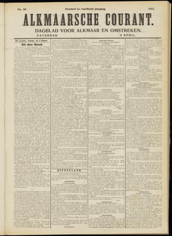 Alkmaarsche Courant 1912-04-13