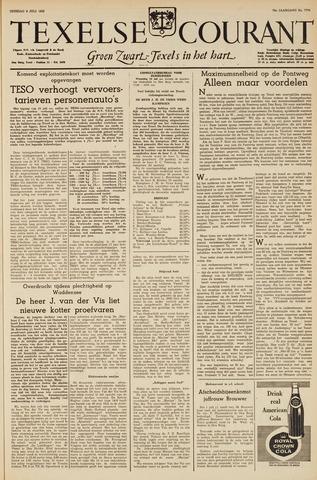 Texelsche Courant 1963-07-09
