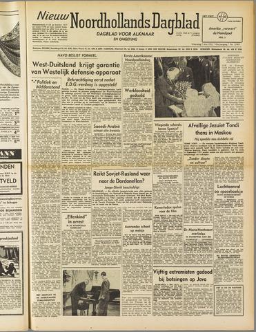 Nieuw Noordhollandsch Dagblad : voor Alkmaar en omgeving 1952-05-07