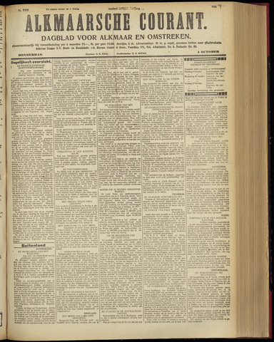 Alkmaarsche Courant 1928-10-04