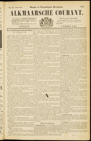 Alkmaarsche Courant 1897-02-07