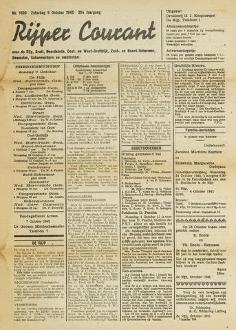 Rijper Courant 1945-10-06