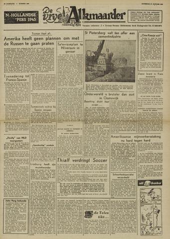 De Vrije Alkmaarder 1950-01-21