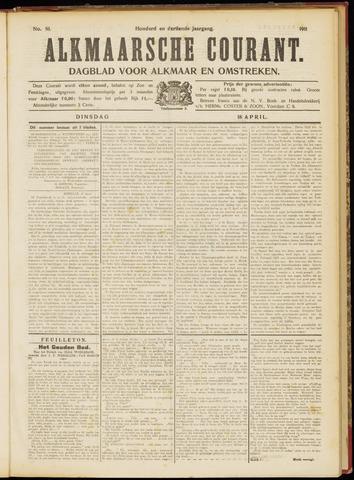 Alkmaarsche Courant 1911-04-18