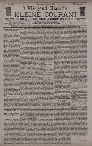 Vliegend blaadje : nieuws- en advertentiebode voor Den Helder 1896-08-05