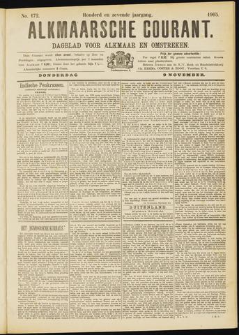 Alkmaarsche Courant 1905-11-09