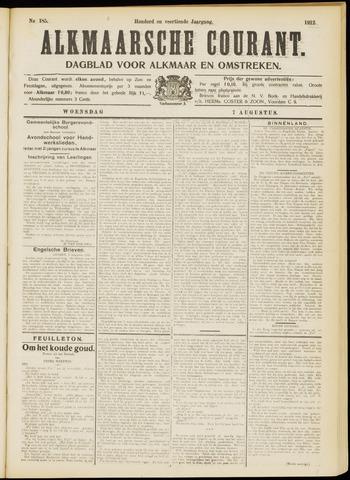 Alkmaarsche Courant 1912-08-07