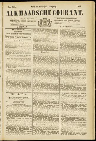 Alkmaarsche Courant 1886-08-20