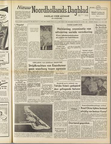 Nieuw Noordhollandsch Dagblad : voor Alkmaar en omgeving 1952-01-30