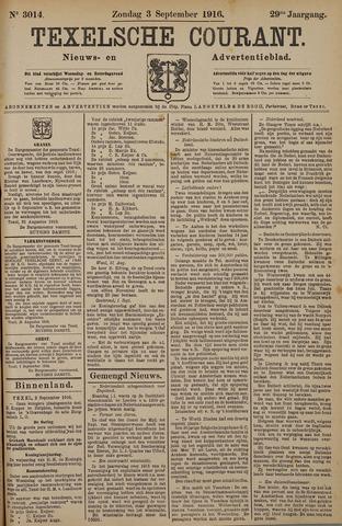 Texelsche Courant 1916-09-03