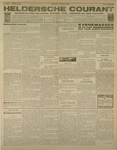 Heldersche Courant 1933-02-07