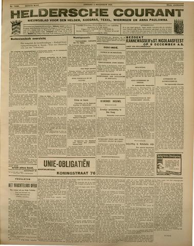 Heldersche Courant 1931-11-03