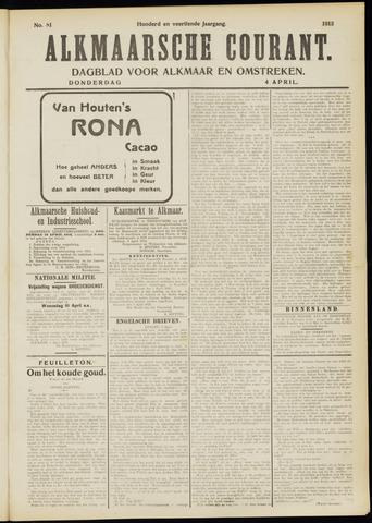 Alkmaarsche Courant 1912-04-04