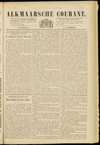 Alkmaarsche Courant 1888-10-21