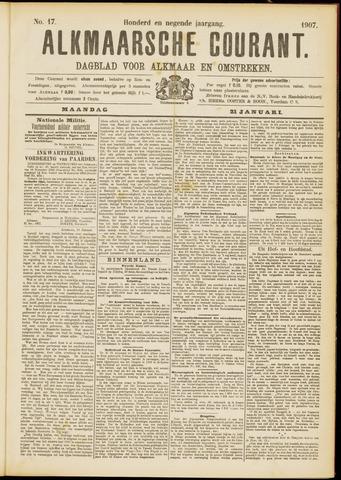 Alkmaarsche Courant 1907-01-21