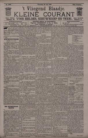 Vliegend blaadje : nieuws- en advertentiebode voor Den Helder 1895-06-26