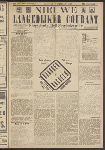 Nieuwe Langedijker Courant 1927-09-10