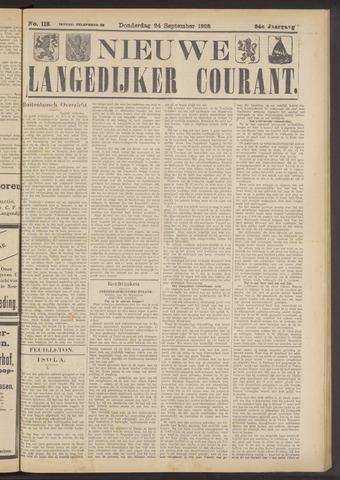 Nieuwe Langedijker Courant 1925-09-24