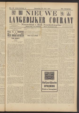 Nieuwe Langedijker Courant 1927-07-30