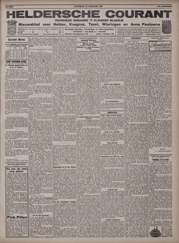 Heldersche Courant 1916-02-19
