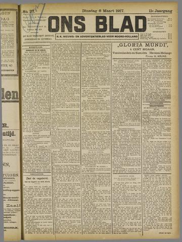 Ons Blad : katholiek nieuwsblad voor N-H 1917-03-06