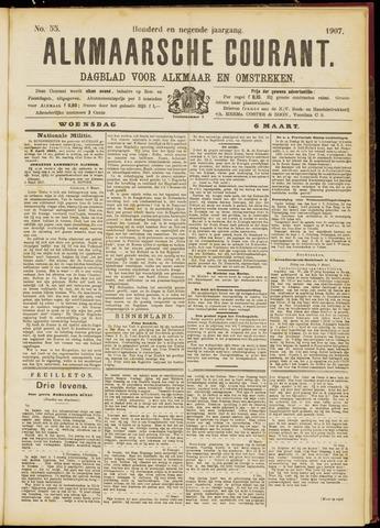 Alkmaarsche Courant 1907-03-06