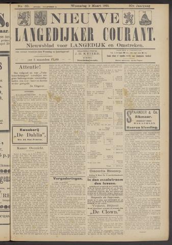 Nieuwe Langedijker Courant 1921-03-09