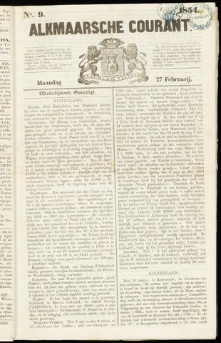 Alkmaarsche Courant 1854-02-27