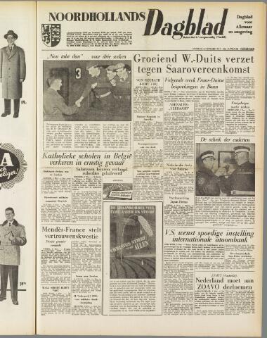Noordhollands Dagblad : dagblad voor Alkmaar en omgeving 1954-11-06