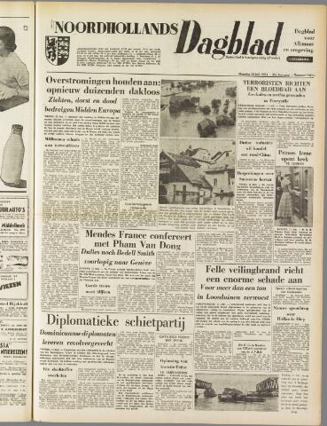 Noordhollands Dagblad : dagblad voor Alkmaar en omgeving 1954-07-12