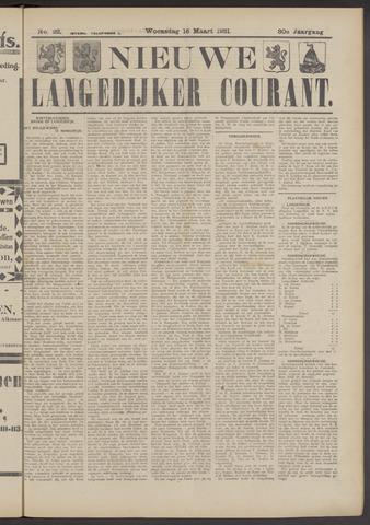 Nieuwe Langedijker Courant 1921-03-16