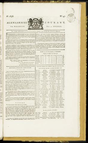 Alkmaarsche Courant 1838-11-19