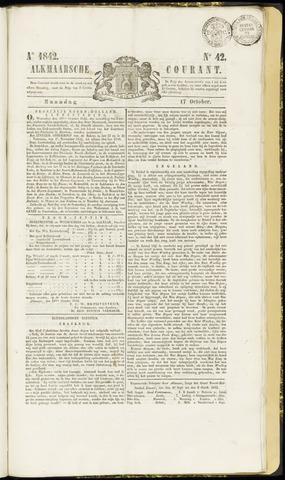 Alkmaarsche Courant 1842-10-17