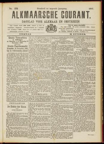 Alkmaarsche Courant 1907-10-25