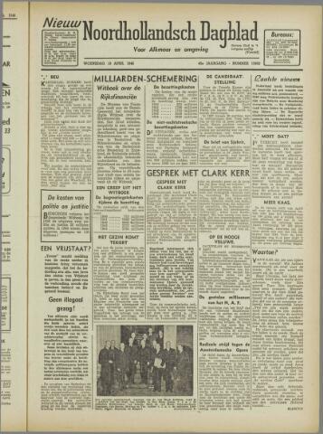 Nieuw Noordhollandsch Dagblad : voor Alkmaar en omgeving 1946-04-10
