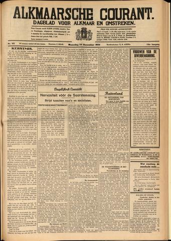 Alkmaarsche Courant 1934-12-24