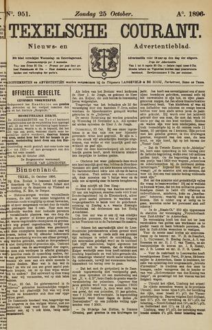 Texelsche Courant 1896-10-25