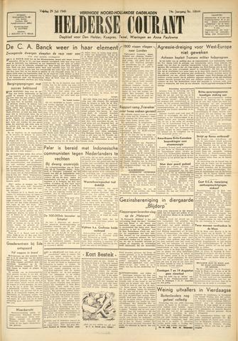 Heldersche Courant 1949-07-29
