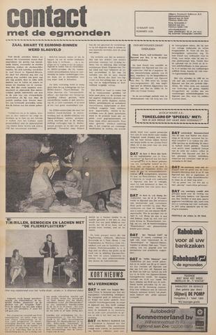 Contact met de Egmonden 1976-03-10