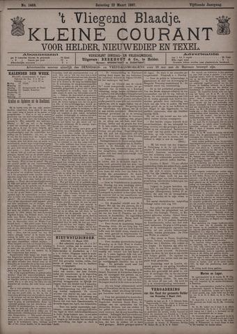 Vliegend blaadje : nieuws- en advertentiebode voor Den Helder 1887-03-12