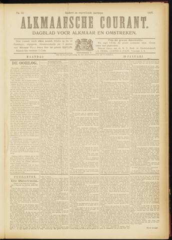 Alkmaarsche Courant 1917-01-29