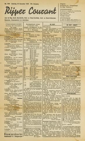 Rijper Courant 1945-12-22
