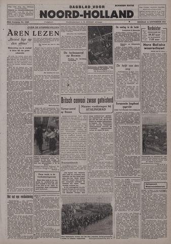 Dagblad Noord-Holland, Schager editie 1942-09-15