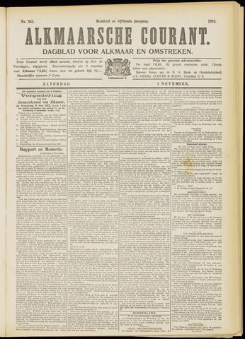 Alkmaarsche Courant 1913-11-01