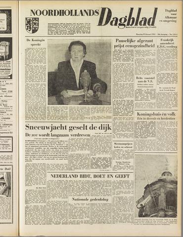 Noordhollands Dagblad : dagblad voor Alkmaar en omgeving 1953-02-09