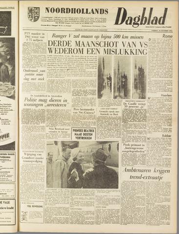 Noordhollands Dagblad : dagblad voor Alkmaar en omgeving 1962-10-19