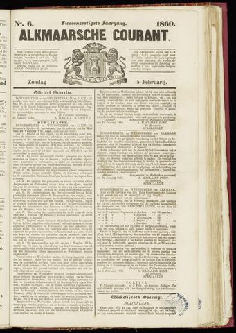 Alkmaarsche Courant 1860-02-05