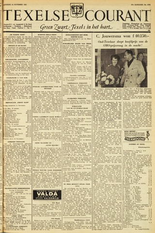 Texelsche Courant 1953-11-14