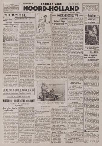 Dagblad Noord-Holland, Schager editie 1943-02-12