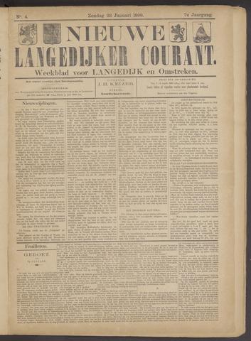 Nieuwe Langedijker Courant 1898-01-23